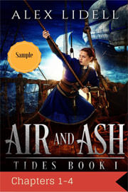 Young Adult Freebies: Air and Ash by Alex Lidell